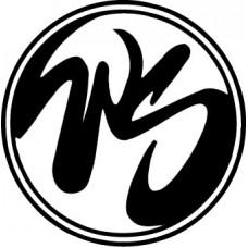 Wild Side WS logo, vinyl cut stickers
